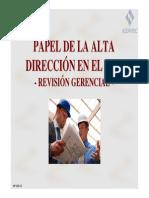 Papel Alta Direccion Sgc