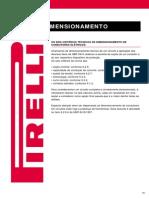 Dimensionamento de Condutores - Pirelli