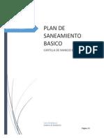 Cartilla Plan de Saneamiento Basico