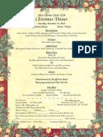 AHYC Christmas Dinner Dance