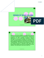 14. Design - Beam_Column