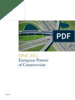 Deloitte Construction Report Europe 2012