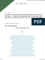 Paúis - Fernando Pessoa