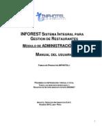 01 - Manual de Administracion (Inforest)