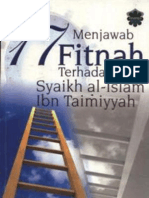 Menjawab 17 Fitnah Terhadap Ibnu Taimiyyah