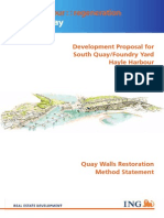 H - Quay Walls Restoriation Method Statement