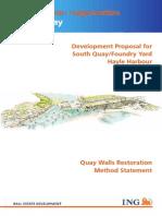 H - Quay Walls Restoriation Method Statement
