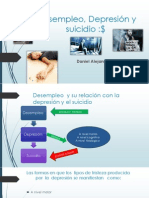 Desempleo, Depresión  y Suicidio