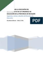Supuestos, ironías y desafíos del Derecho a la Educación