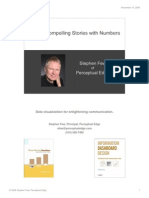 Telling Compelling Stories With Numbers