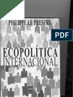 Ecopolítica Internacional - Capítulo 2 - a tragédia dos bens comunais e suas soluções - Le Prestre