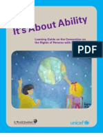Its About Ability Learning Guide English