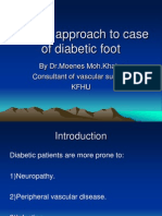Clinical Approach to Case of Diabetic Foot