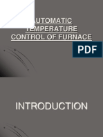 Furnace Control With the Help of Temp