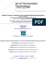 Combat Trauma Treatment From a Mystical Spiritual Perspective