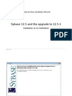 A Step by Step Installation Manual for Sybase 12.5.3