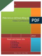 Phân tích cơ chế hoạt động của Video Conference