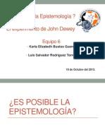Es posible LA epistemología