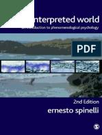 The Interpreted World (Ernesto Spinelli) Cap 1 y 2