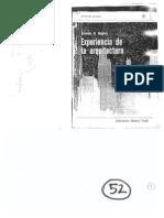(+12) Rogers, Ernesto - Experiencia en La Arquitectura