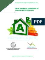 Curso de Eficiencia Energética con CE3X