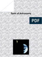 tools of astronomy
