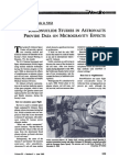 Radionuclide Studies in Astronauts Provide Data on Microgravity; 1985