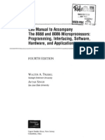 Walter a. Triebel, Avtar Singh-The Lab Manual for 8088 and 8086 Microprocessors_ Programming, Interfacing, Software, Hardware, And Applications, 4th Edition-Prentice Hall (2002)