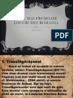 Cele Mai Frumoase Locuri Din Romania