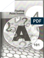 Floating Point Issues