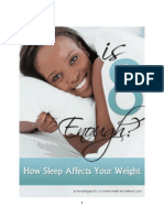 Is Eight Hours Enough? How Sleep Affects Your Weight