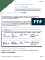 United Airlines - Ver reservas por número de confirmação