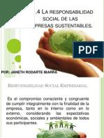 La Responsabilidad Social de Las Empresas Sustentables
