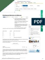 Distribuição Eletrônica de Elétrons - Brasil Escola