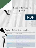 Tipos y Formas de Grupos