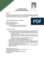 CV Héctor Andrade Ramírez