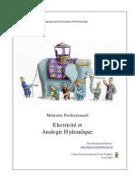 Memoire Professionnel Analogie Hydraulique Electrique