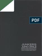 Jumo 211 B und D Betriebs- und Wartungsanleitung