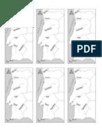 Mapa Rios Portugal