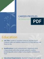 career profiles