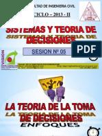 Clase 5 Teoria Decisiones 2013 - II