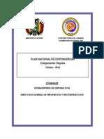 Plan Nacional de Contingencias por Sequías octubre 2012