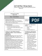 ci 406 integrated unit plan