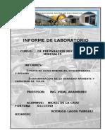 informa de laboratorio