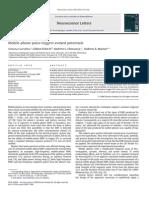Mobile Phone Pulse Triggers Evoked Potentials (Carruba Et Al. 2010)