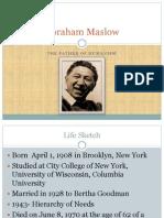maslow presentation