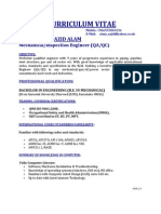 Md Sajid Alam Current Updated Cv-2012