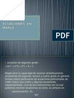 SISTEMAS DE ECUACIONES  EN MAPLE.pptx