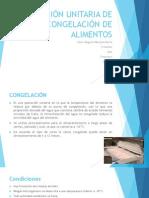 OPERACIÓN UNITARIA DE CONGELACIÓN DE ALIMENTOS