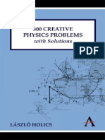 HOLICS, Lázló  300 Creative Physics Problems With Solutions